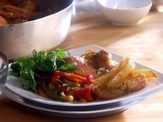 Poulet rôti et pommes de terre rôties par Lina Antonacci - di Stasio - Téléquébec