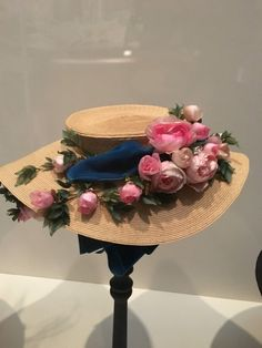 1905 hat by Madame Georgette.