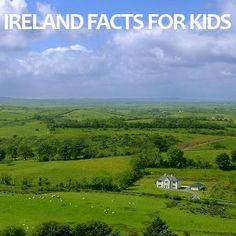 Irish Facts for Kids - St. Culture Day, Irish Culture, St Paddys Day, St Patricks Day, Ireland Facts, International Children's Day, Ireland With Kids, Erin Go Bragh, World Thinking Day
