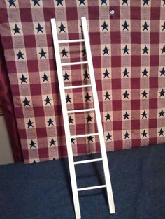 Your place to buy and sell all things handmade Small Ladder, Diy Ladder, Wood Ladder, Ladder Decor, Handmade Home Decor, Handmade Decorations, Handmade Wooden, Etsy Handmade, Diy Christmas Tree
