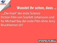 #funfact #dieinsel #scarlettjohansson #michaelbay #jerrybruckheimer