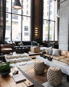 1,538 vind-ik-leuks, 19 reacties - Pauline Egge (@petitepassport) op Instagram: 'The lobby of @1hotels Brooklyn Bridge. Now featured on petitepassport.com (link in profile)…'