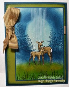 Stampin' Up! In the Meadow, Homemade Cards, Rubber Stamp Art, & Paper Crafts - Splitcoaststampers.com