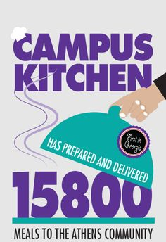 The Campus Kitchen at UGA is a student-powered hunger relief organization of the Office of Service-Learning.