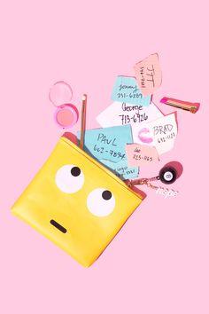 Studio DIY Emoji Clutch / Violet Tinder Studios