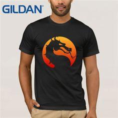 Mortal Kombat Logo T Shirt Retro Nes, Video Game T Shirts, Shirt Price, Mortal Kombat, Brand Names, Sleeve Styles, Free Shipping, Logos, Clothing