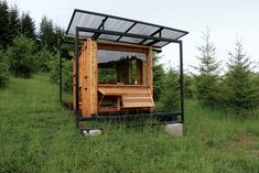 The Watershed is an off-the-grid writer's retreat that architect Erin Moore designed for her mother, nature writer Kathleen Dean Moore.