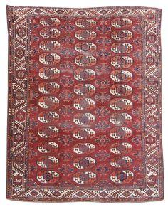 Kyzil Ayak Main  Kyzil Ayak Main 19th C (3rd Q) Turkmen