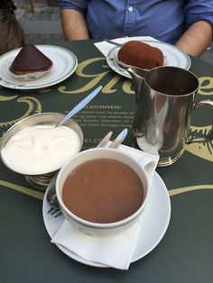 A Walk Around Indre and a Hot Chocolate at Conditori La Glace Flags For Sale, Chocolates, Hot Chocolate, Denmark, Posts, Desserts, Blog, Ice, Tailgate Desserts
