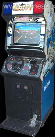 "Taito ""Chase H.Q."" arcade game"