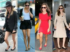 Hollywood stars wearing Pretty Ballerinas