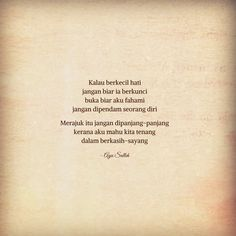 A Cup Of Blues - Puisi, Photo Poetry and Travels by Ayu Salleh Quotes Rindu, Text Quotes, Qoutes, Tattoo Quotes, Life Quotes, Meaningful Quotes, Inspirational Quotes, Cinta Quotes, Quotes Indonesia