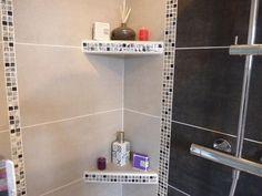 carrelage 77 Bathroom Layout, Small Bathroom, Bathrooms, Main Gate Design, Toilet Room, Shower Shelves, Ship Lap Walls, Living Room Designs, Sink