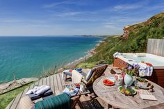 The Edge Beach Cabin Whitsand Bay, Cornish Beach Cabin with Seaviews Cornwall Breaks, Cornish Beaches, Beach Shack, Staycation, Great Britain, Outdoor Gardens, Travel Inspiration, Places To Visit, Cabin
