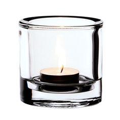 Iso Kivi kynttil�lyhty, kirkas - FDS - 23,50€