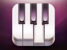 'Go! Piano' App Icon Design by Ramotion