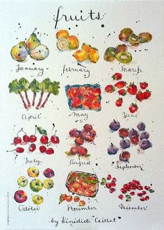 Fruits (Benedicte Caillat)