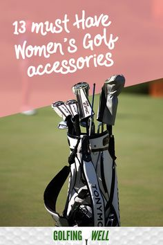 Here are some must have ladies golf accessories that are essential in playing the sport. Girls Golf, Ladies Golf, Golf Score, Golf Instruction, Golf Towels, Golf Putting, Golf Exercises, Golf Tips For Beginners, Golf Training
