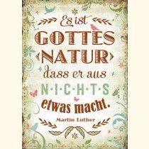 Postkarte - Gottes Natur