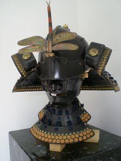 Maedate shinsa   Nihon-No-Katchu Samurai Armour Forum Japanese Mask, Samurai Armor, Nihon, Helmets, Knights, Weapon, Armour, Masks, Battle