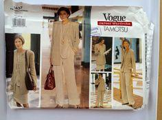 vogue 1437 Career Wardrobe Tamotsu business by Thecuttingcloth