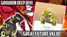 Groudon Deep Dive (How Good Is It In Pokemon Go?) Pokemon Go, Diving, Animation, Deep, Adventure, Movie Posters, Scuba Diving, Film Poster, Animation Movies