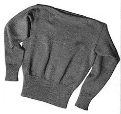 42bc05d8c Link to download the FREE Knit for Victory pattern Crew Neck Pullover  Pattern  S-109