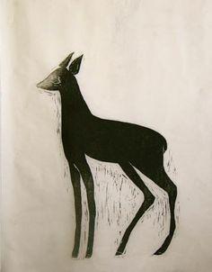 Taidelainaamo - Paula Martikainen: Musta Bambi