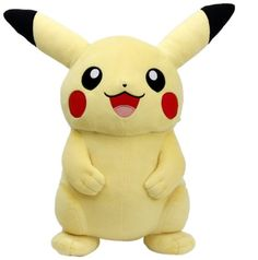Pokemon Center Original Life-Size Plush - Pikachu featured on Jzool.com