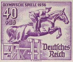 Horse Stamp of German Empire More about #stamps: http://sammler.com/stamps/ Mehr über #Briefmarken: http://sammler.com/bm