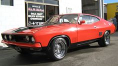 1973 Ford Falcon XB GT Coupe . Mustang meets Torino meets Chevelle. I think they're cool.
