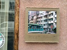 Über 30 Ghosts von Harry Gelb tauchen im Frühjahr 2014 in Basel auf! Hier: Harry Gelb 531 - Foto ©Welz