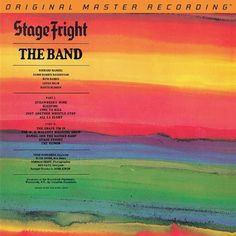THE BAND - STAGE FRIGHT (NUMBERED LIMITED EDITION 180G Vinyl LP