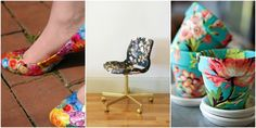 14 things you didn't know you could decoupage @kayceelochner