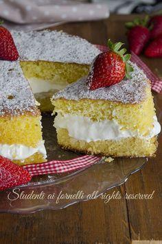 torta alla crema al latte facile sofficissima e golosa ricetta torta dolce