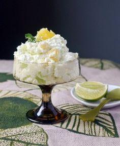 Fresh Lime & Pineapple Fluff   Fruit Recipes Fresh Lime & Pineapple Fluff   Fruit Recipes