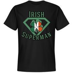 Irish Superman Unisex Premium T-Shirt: BlueRose Creations Holiday Boutique, Customized Girl, Superman, I Shop, Irish, Tees, Mens Tops, T Shirt, Cyber