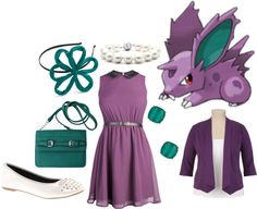"""""""Nidoran"""" by catloverd on Polyvore"""