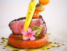 #RECETA Filete de atún sellado con tres pimientas – Animal Gourmet
