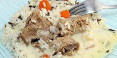 Recette : Blanquette de veau, riz basmati et petits légumes