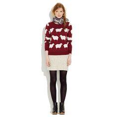 sweater + tights