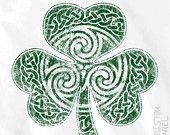 Spring Shirt - Celtic Clover Shirt - Short Sleeve Men's and Ladies Sizes Available - Celtic Shamrock Irish - Mother's Day - Father's Day