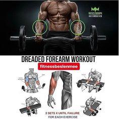 Dreaded forearm workout