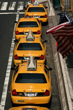 When hailing a NYC taxi make sure to hail cabs whose numbers are lit up.