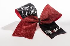 Stunning Cheerleading Bows made to order, your design. Gorgeous Glittery Personalised Cheer Bows and Team Bows. Bows from under Discounts for Teams. Cheer Base, Cheerleading Bows, Pretty Little, Glitter, Handmade, Hand Made, Cheerleader Bows, Cheer Bows, Sequins