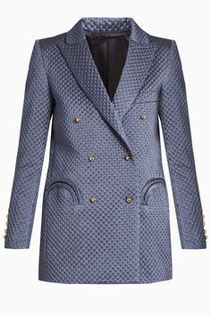 Designer Clothes, Shoes & Bags for Women Jacket Dress, Blazer Jacket, Slim Fit Jackets, Tailored Jacket, Double Breasted Jacket, Work Attire, Women Wear, Smoking, Blazers