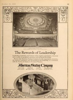 From Motion Picture News: The Rewards of Leadership #newyork #nyc #theatretalks #theatre #cinema