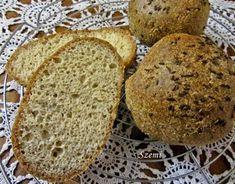 Szemirámisz függőkertje: Paleo zsemle Banana Bread, Food And Drink, Gluten Free, Cooking, Desserts, Bagels, Breads, Diet, Glutenfree