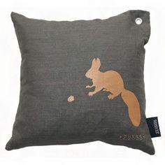 ZUSSS Kissen Squirrel