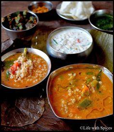 Sambar Rice made with Brown rice